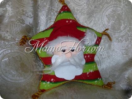 Como hacer una Almohada de Papá Noel