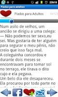 Screenshot of Piadas para Adultos (+18)