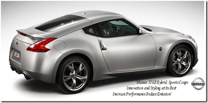 The All New Nissan Z Sports Coupe Is Powered By A Mercedes 2.2 Liter  Four Cylinder E300 BlueTEC Diesel Hybrid Engine. This Comes From A  Partnership Between ...