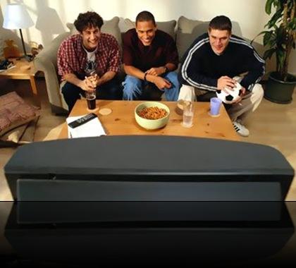 Vendo futebol na TV