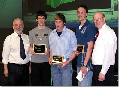 Fall 2009 AutoCAD Winners
