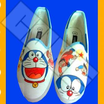 Doraemon - Sepatu Lukis