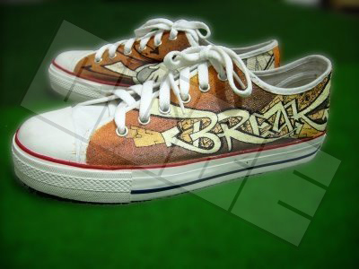 Break Graffity - Sepatu Lukis