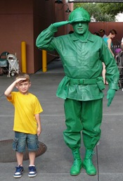 Alex and toy soldier
