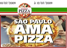 Acesse o site oficial do Sampa Pizza