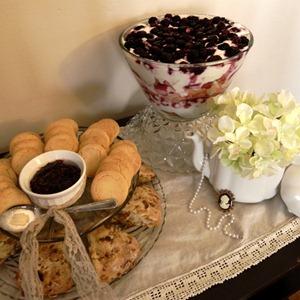 royal wedding tea time
