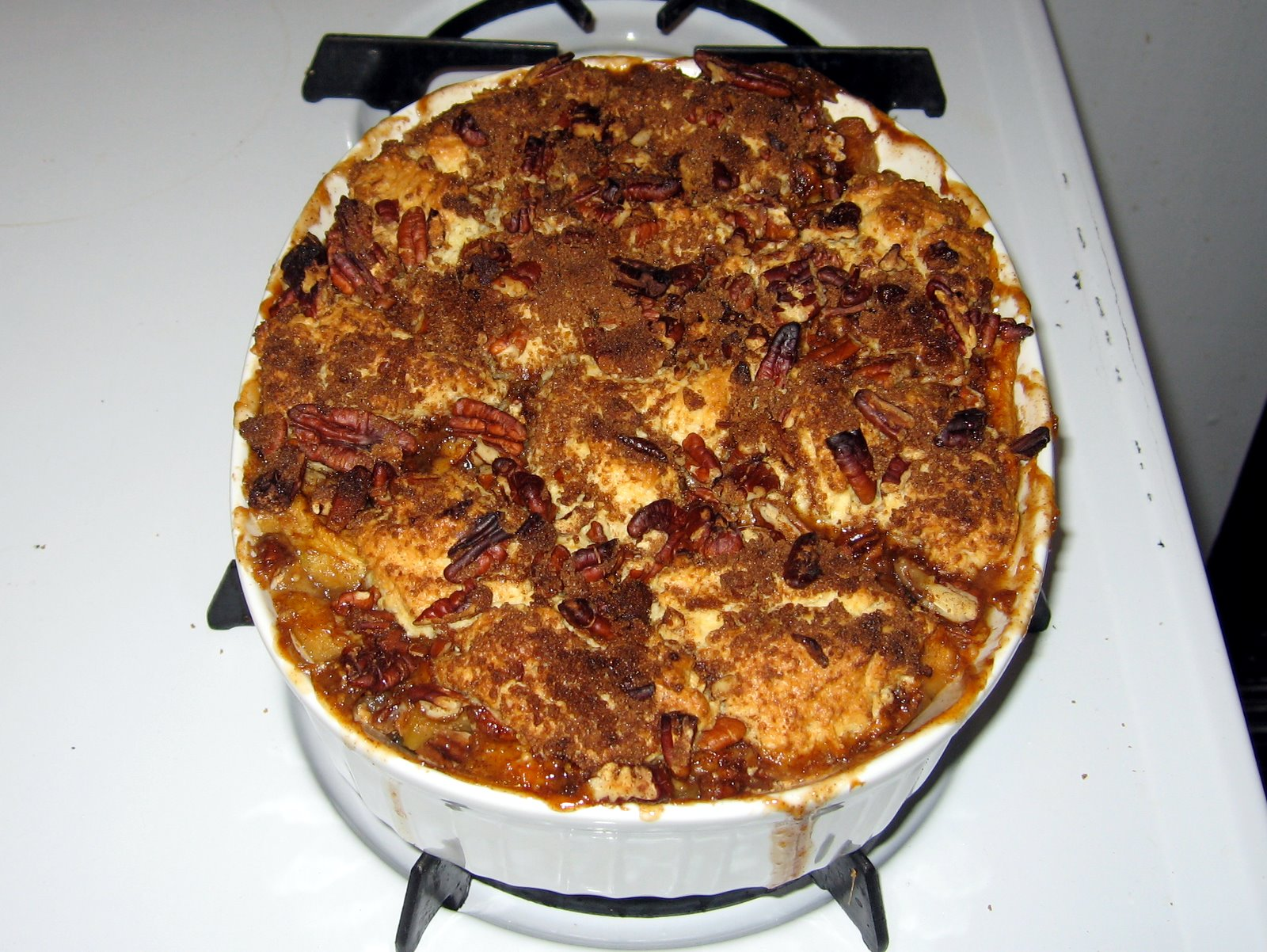 Apple Cobbler With Ice Cream Images & Pictures - Becuo