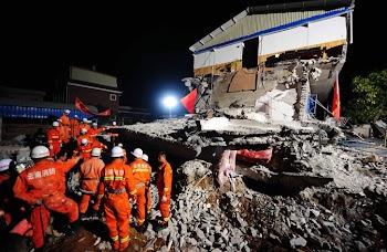 云南盈江地震25人遇难