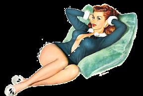 pinup vargas 1953