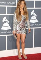 53rd Grammys Jennifer Lopez ShoesNBooze