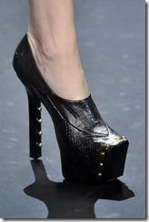 Christian Siriano AW 11 Black platform ShoesNBooze
