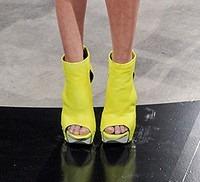 Kimberly Ovits AW 11 Citrine Platform ShoesNBooze