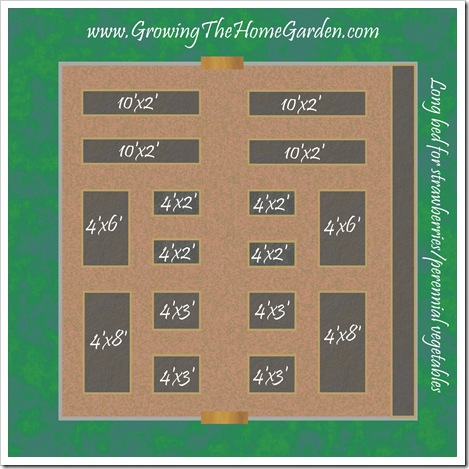 Vegetable Garden Layout Raised Bed