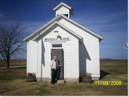 Little House on the Prairie school house