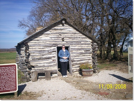 Ingalls cabin, Little House on the Prairie
