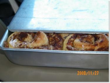 Joel Floto's delicious cinnamon rolls