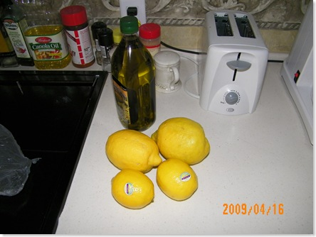 desert lemons vs. purchased lemons