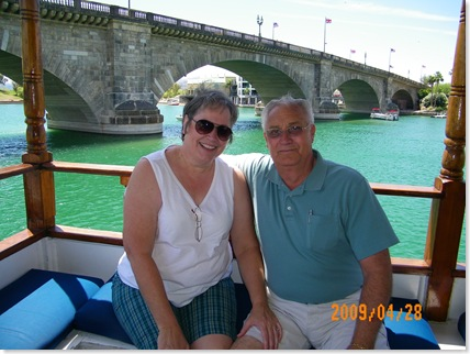 Lake Havasu City - London Bridge Dixie Bell taken by the Captain