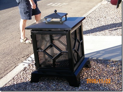 Virg's outdoor fireplace for sale