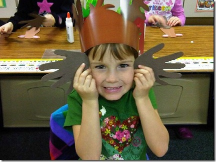 Emma at school 12-21-2010