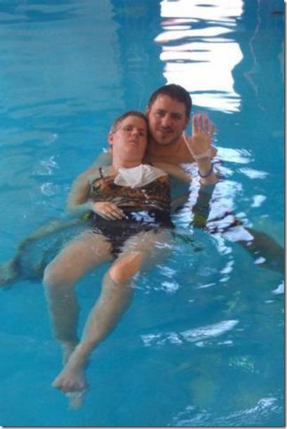 Kris jan 2011 swimming