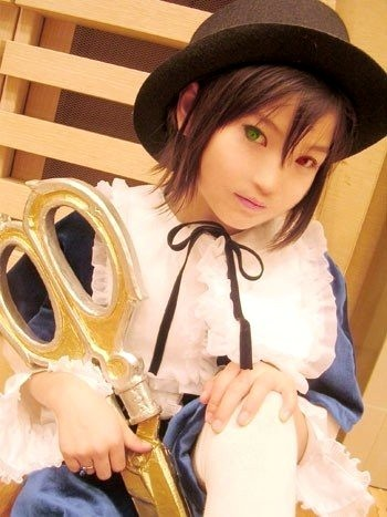 El mejor cosplay que hayas visto Souseiseki+cospleyer