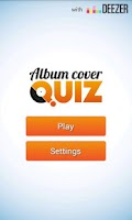 Screenshot of Album Cover Quiz