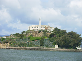 Alcatraz, as seen from the ferry ride over