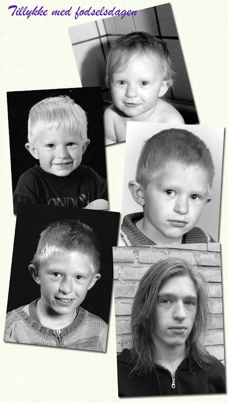 Daniel 16 år