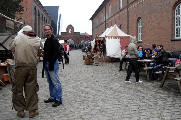 Middelaldermarked ved Tøjhusmuseet