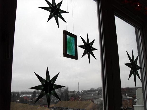 stjerner i vinduet