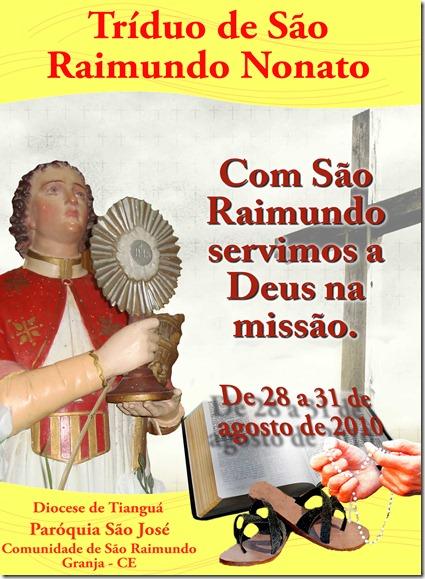 CAPA LIVRO DE SÃO RAIMUNDO - IMAGEM