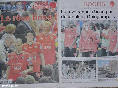 Les escapades d 39 isa mai 2009 - France pare brise rennes ...