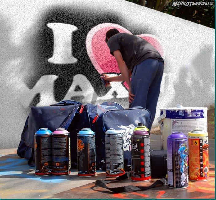 Grafitti Maxine