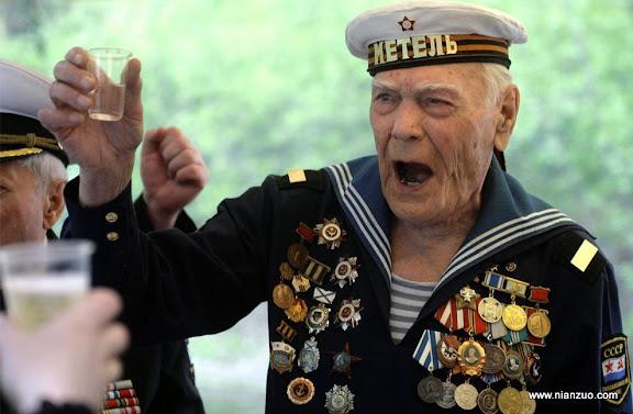 俄罗斯5月9日大阅兵 老战士