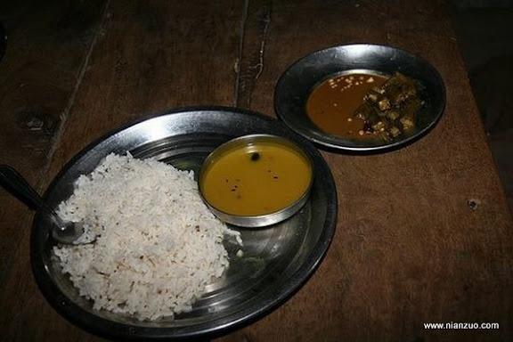 世界各国的校餐 印度:米饭、咖喱和酱油