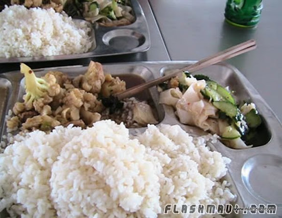 世界各国的校餐 中国