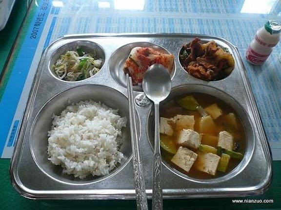 世界各国的校餐 韩国:怎么都是豆腐汤?