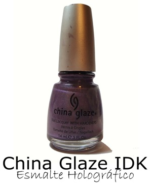 China Glaze Holográfico