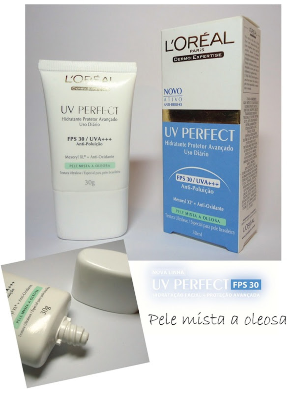 UV Perfect Loreal - Pele mista a oleosa