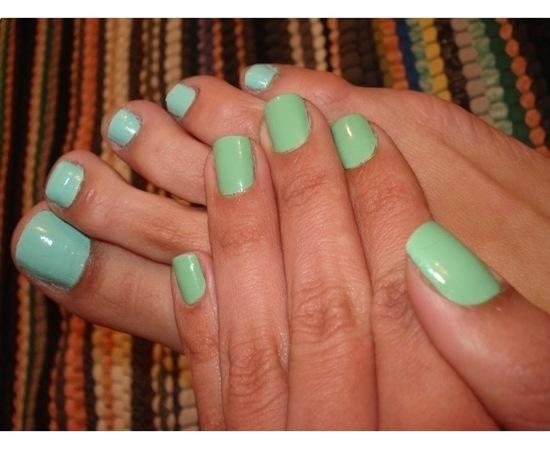 Esmaltes Verdes Customizados
