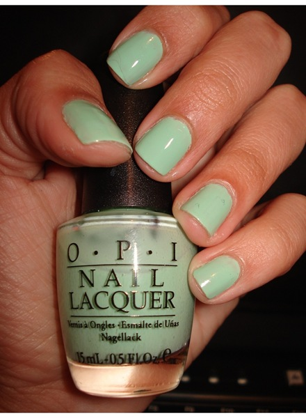 OPI - Hey Get in Lime