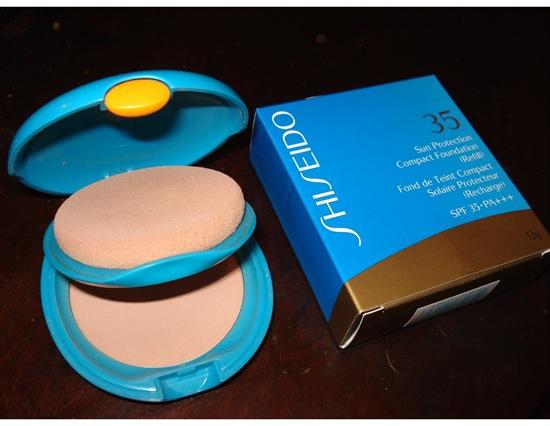 Shiseido Sun Protection FPS 35 - Base em Pó