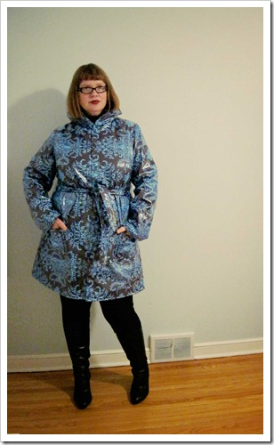 Looking forward to rain… Amy Butler Rainy Days Raincoat