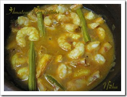 Prawns in Coconut Gravy 6