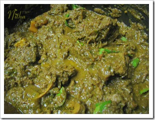 Mutton curry 8