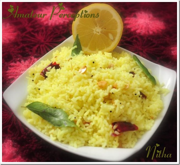 Lemon Rice 3