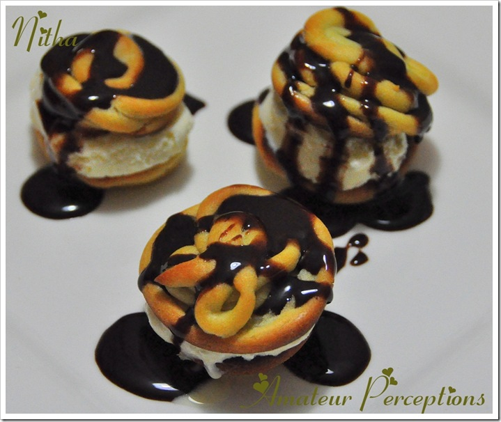 Chocolate Profiteroles 7