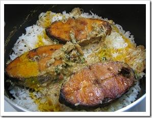 Fish Biriyani 9