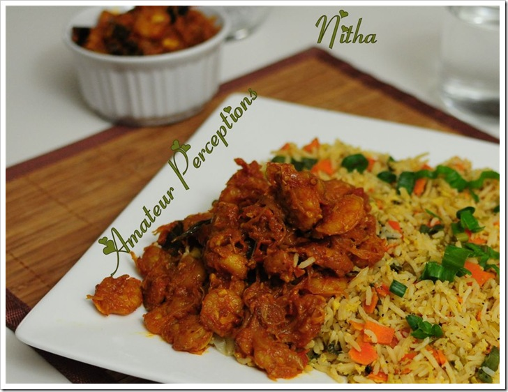 Fried Rice - Goan Shrimp Balchao 2